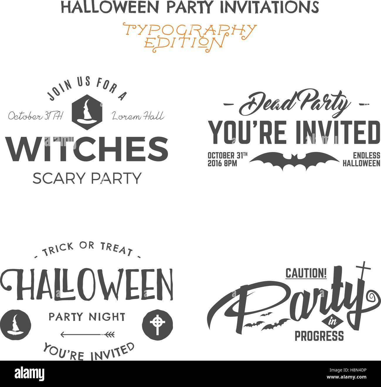 Patch Stamp Logotype Invitation Isolated Hat Rip House Vector ...