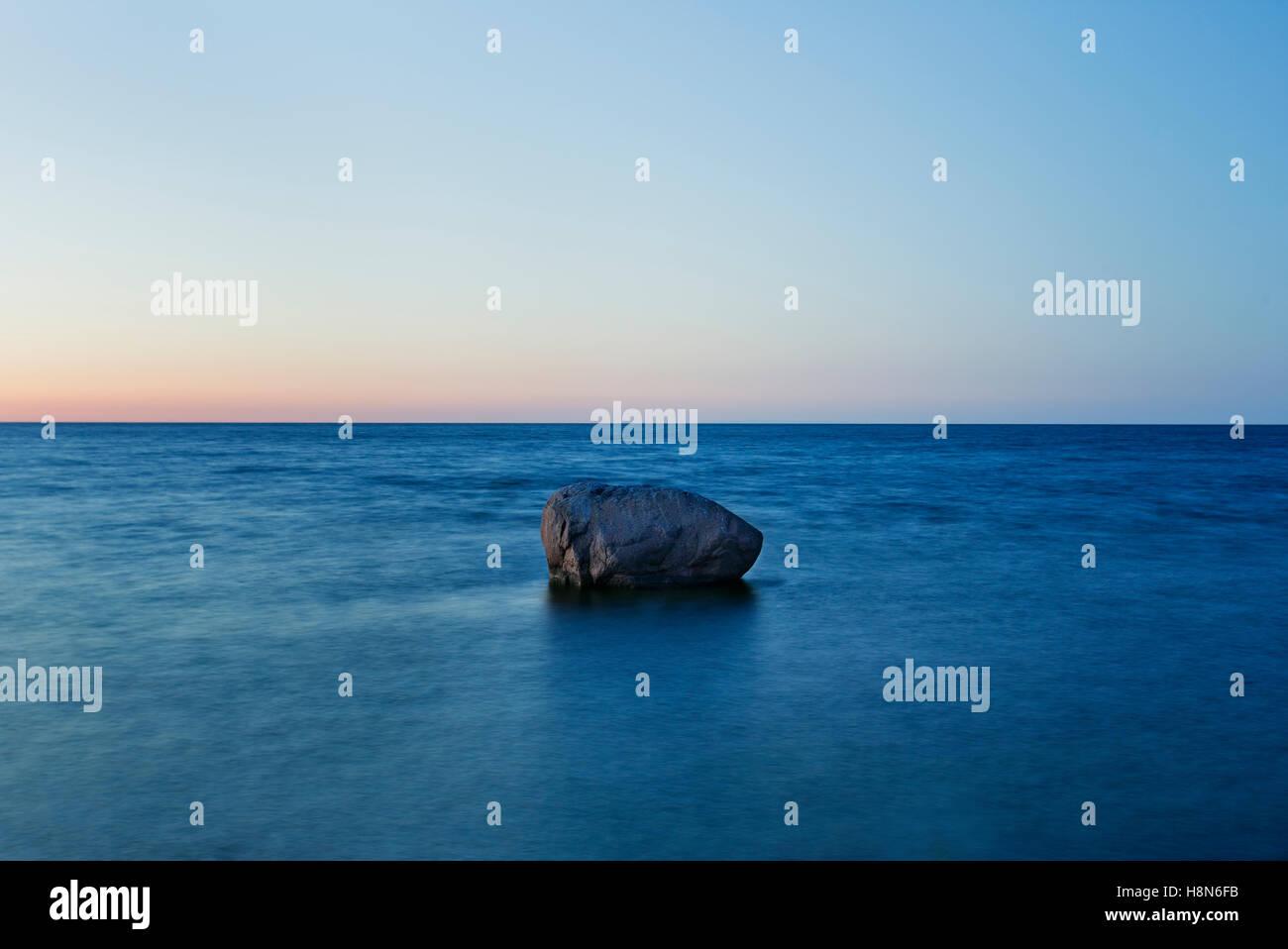 Seascape, Estonia, Saaremaa, Neeme Stock Photo