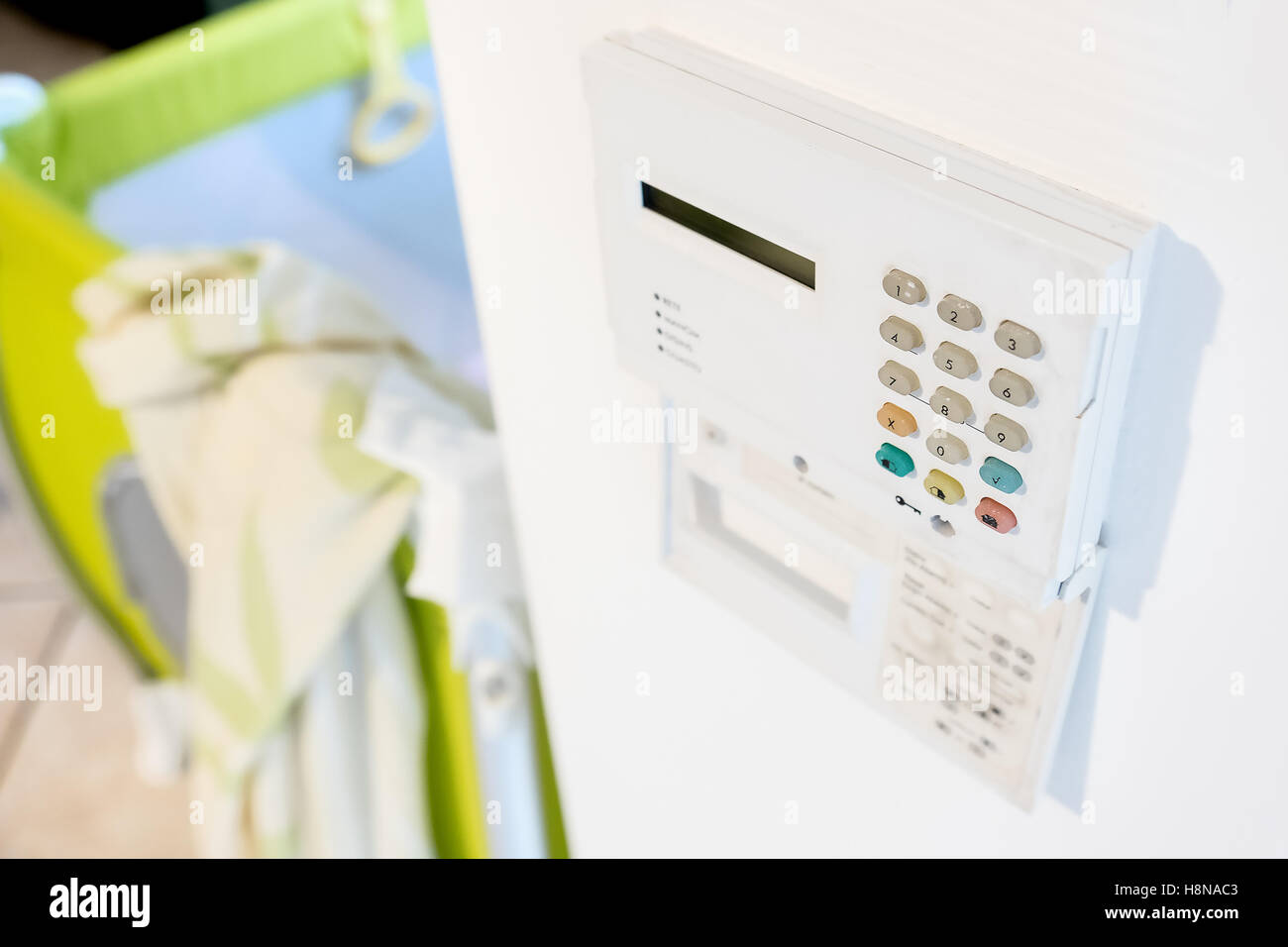 home security system alarm - Stock Image