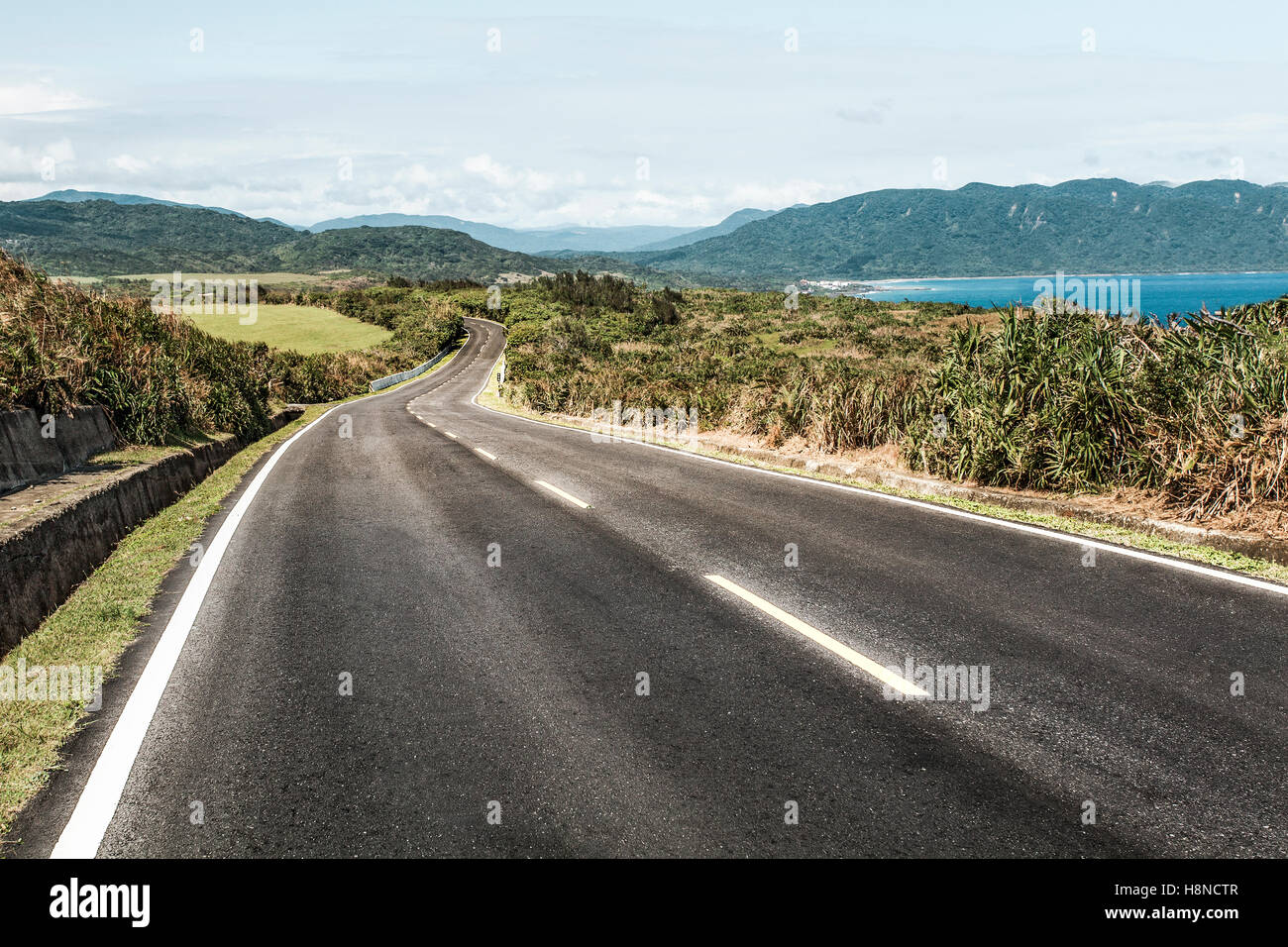 Highway in Taiwan, China - Stock Image