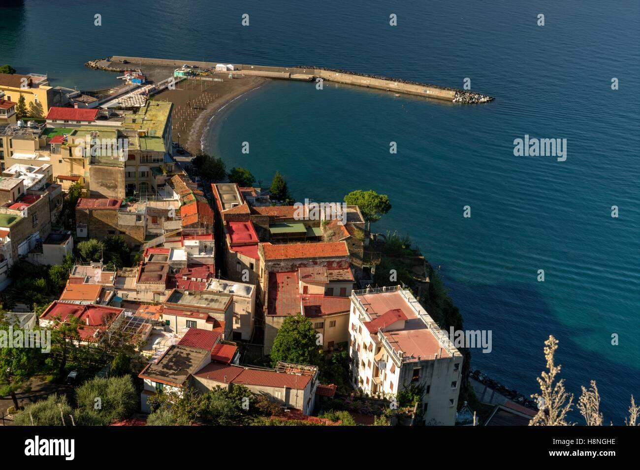 Meta harbour, Italy - Stock Image