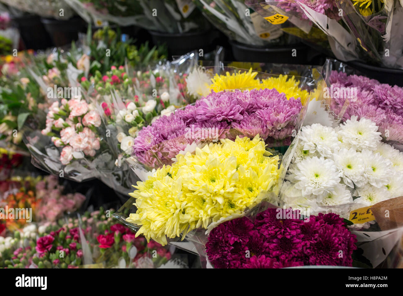 Bunches Of Flowers Uk Stock Photos Bunches Of Flowers Uk Stock