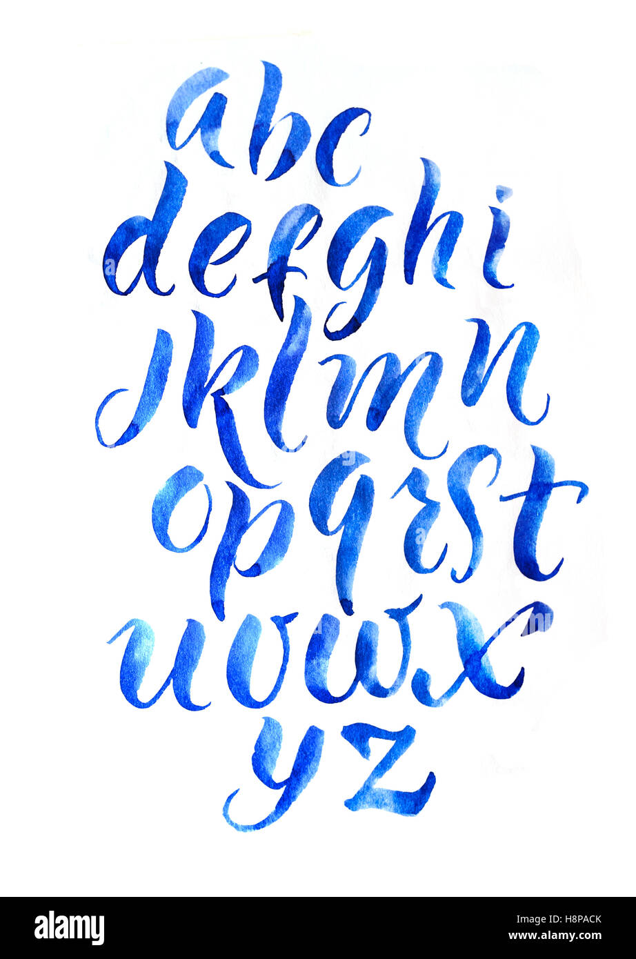 Alphabet Bubble Letter Font