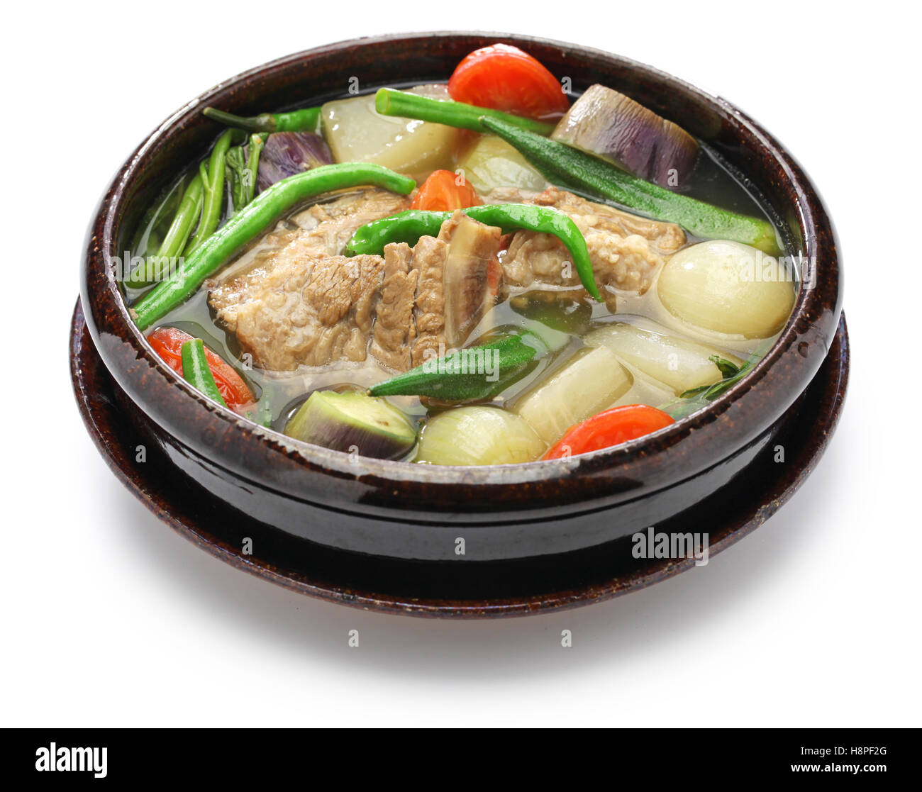 Sinigang Na Baboy Pork Sinigang Filipino Cuisine Stock Photo Alamy