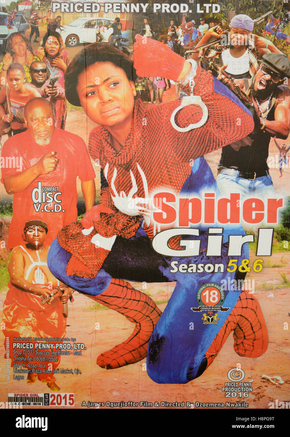 https://c8.alamy.com/comp/H8PG9T/nigerian-nollywood-film-or-movie-poster-spider-girl-H8PG9T.jpg
