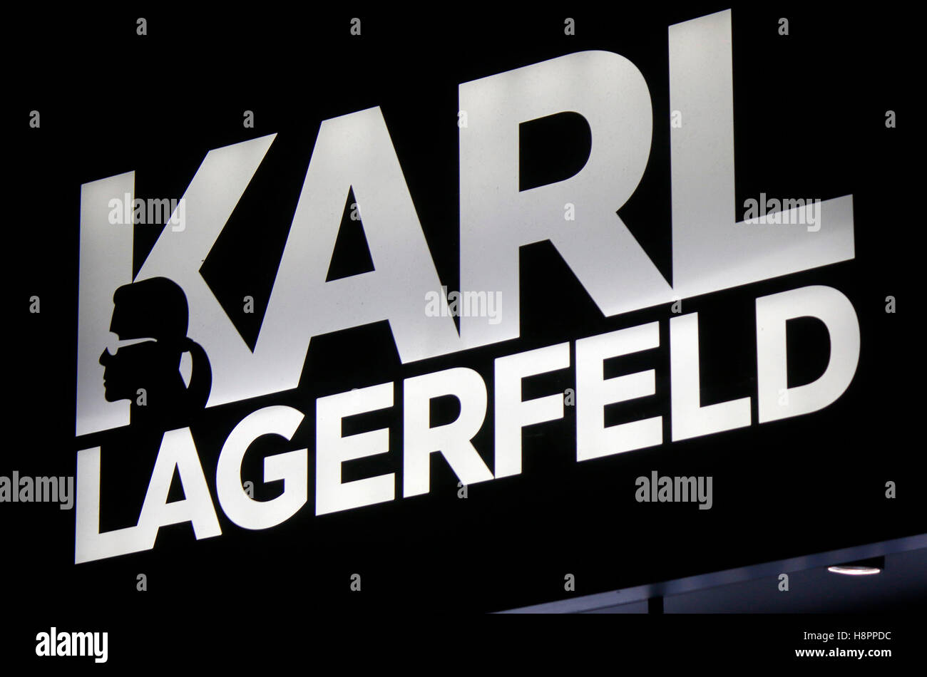Karl Lagerfeld Logo Stock Photos Karl Lagerfeld Logo Stock Images