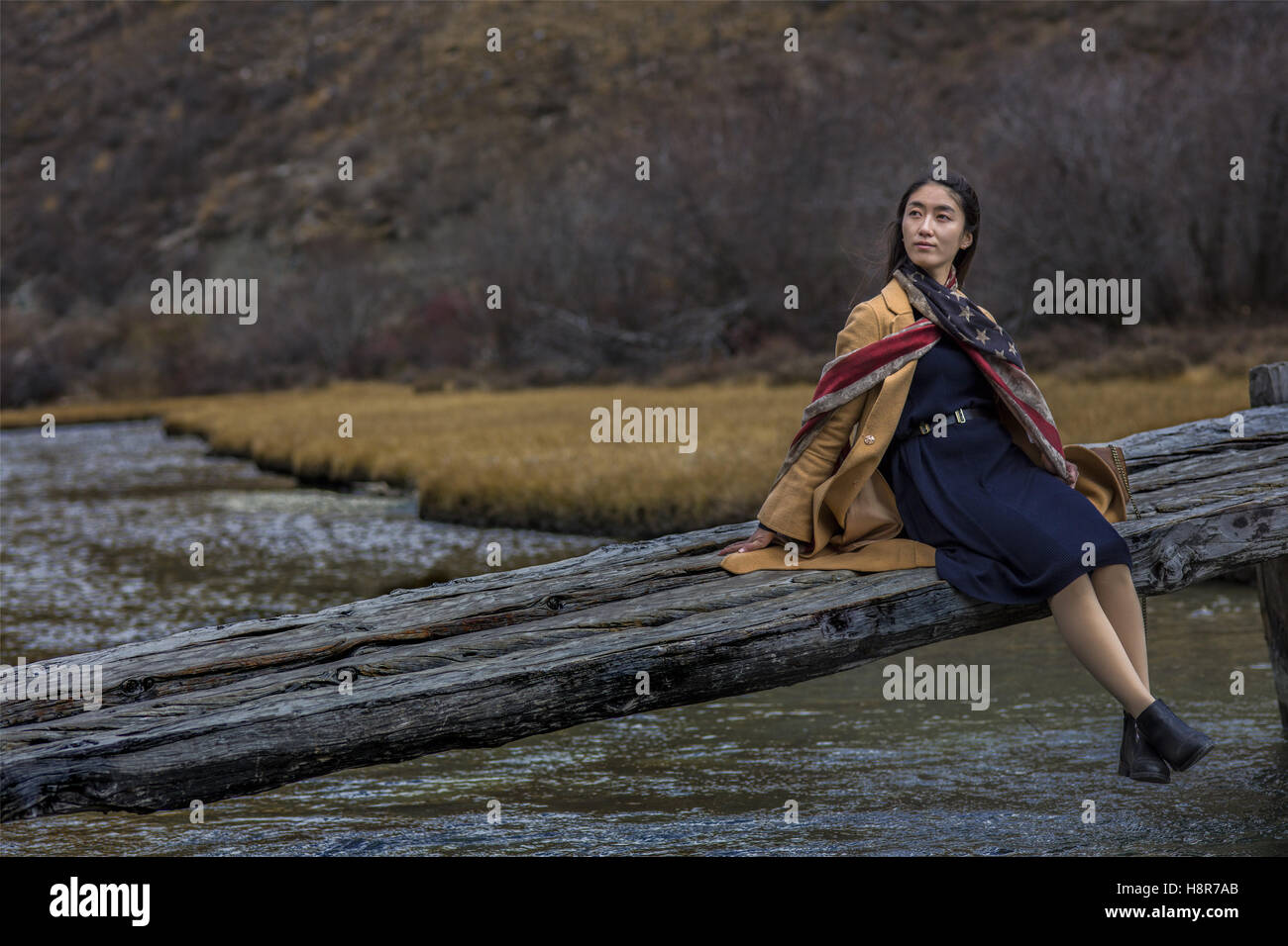 Sichuan, Sichuan, China. 26th Oct, 2016. Sichuan, CHINA-October 26 2016: (EDITORIAL USE ONLY. CHINA OUT) A young - Stock Image