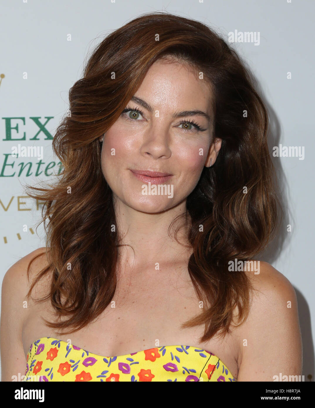 Hollywood, USA. 15th Nov, 2016. Actress Michelle Monaghan attends the 40th Anniversary of Rolex Awards for Enterprise - Stock Image