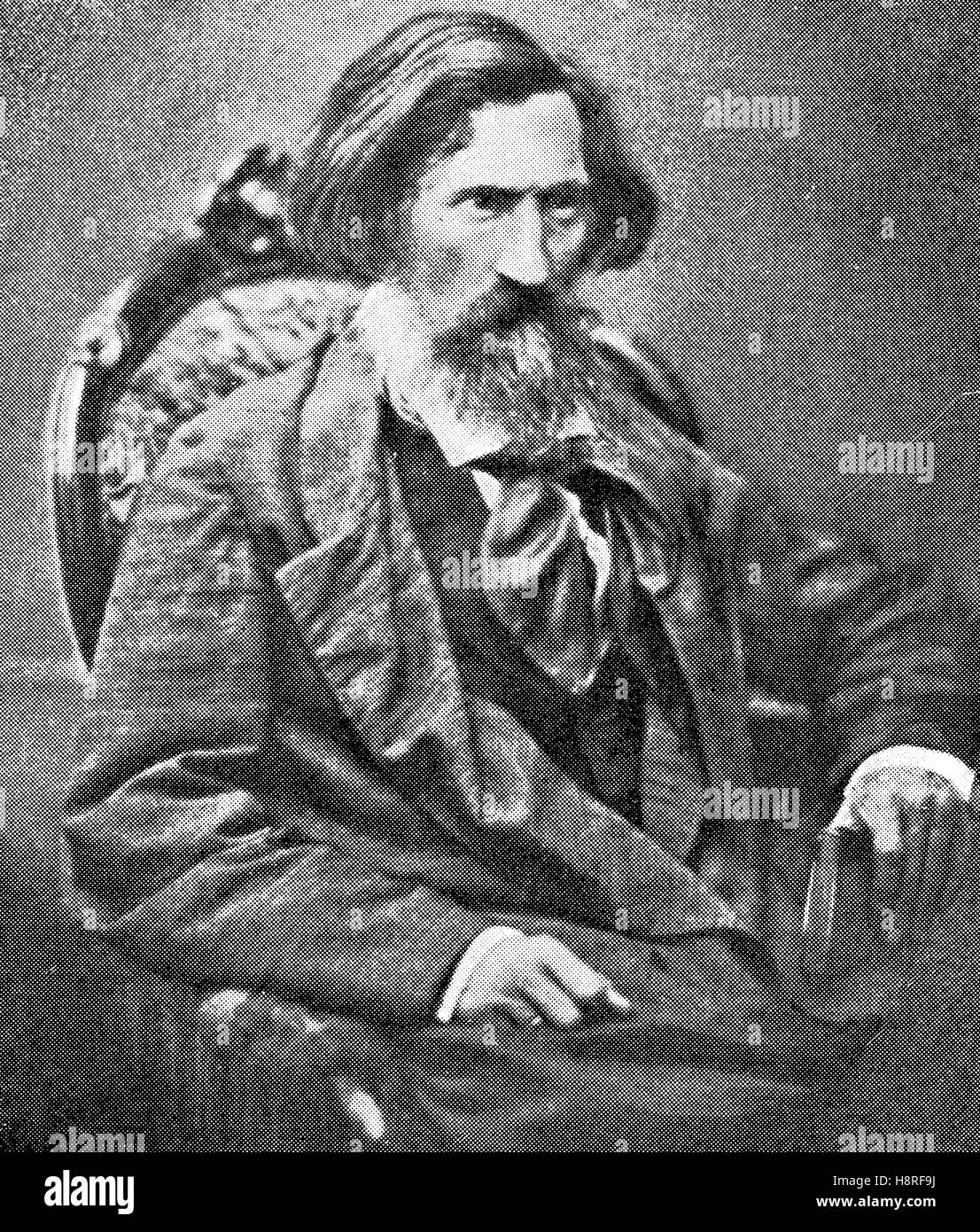 Otto Ludwig was a German dramatist, novelist and critic born in Eisfeld in Thuringia - Stock Image