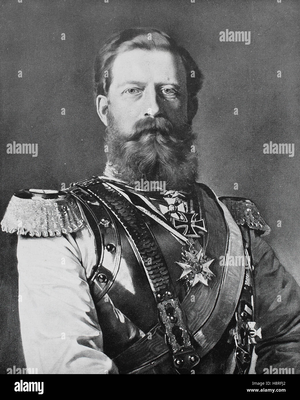 Frederick III., called the Peaceful, was Holy Roman Emperor from 1452 until his death - Stock Image
