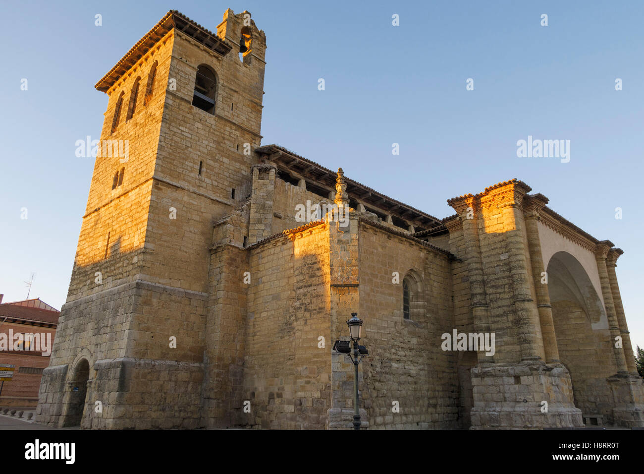 Church of San Pedro in Fromista, Castille and Leon, Spain, Europe - Stock Image