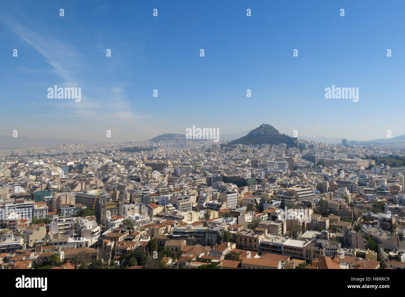 Athens skyline, Greece - Stock Image