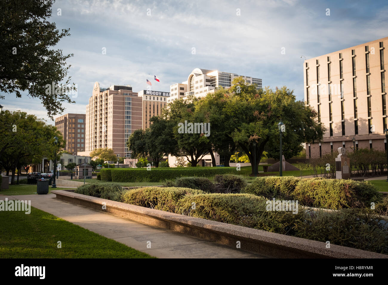 Moody Bank Buiding Austin, Texas, United States - Stock Image