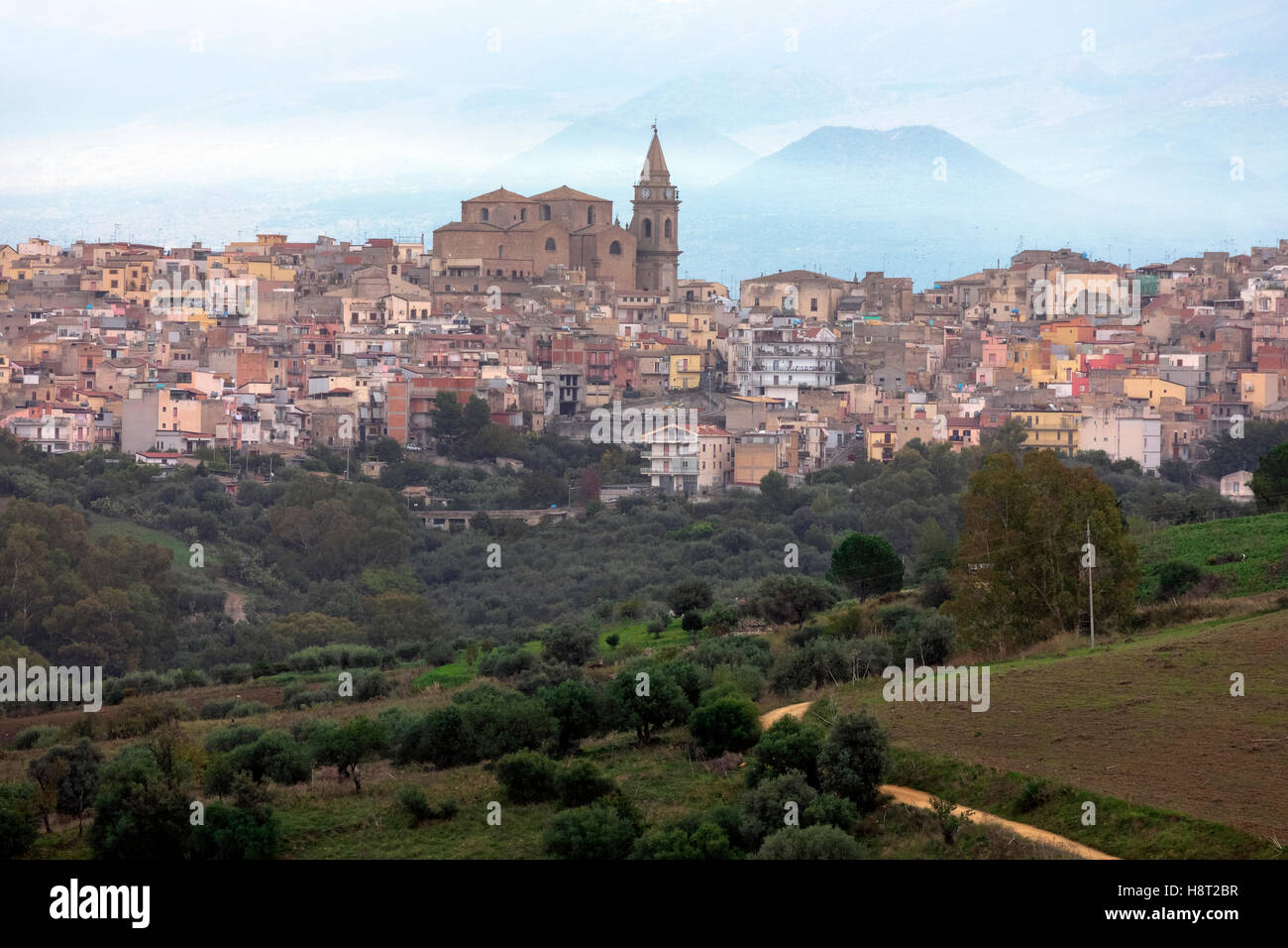 Regalbuto, Enna, Sicily, Italy - Stock Image