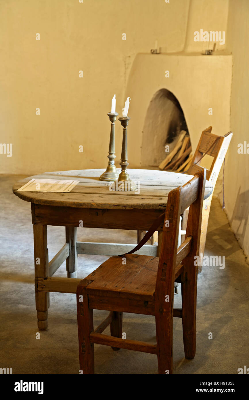 Table And Chairs, Living Room (u0027salau0027), Hacienda De Los Martinez