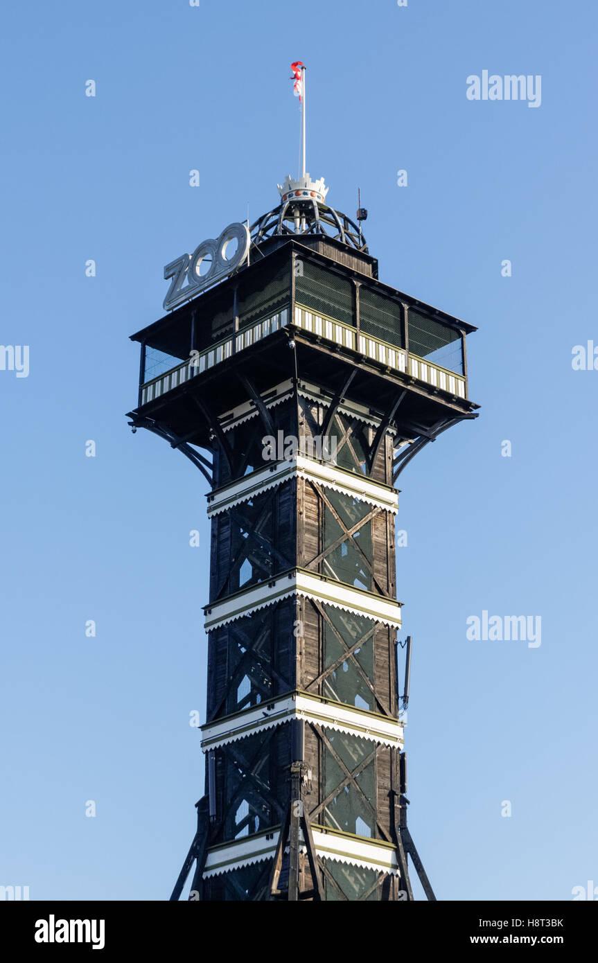Observation Tower In Copenhagen Zoo Denmark Stock Photo Alamy