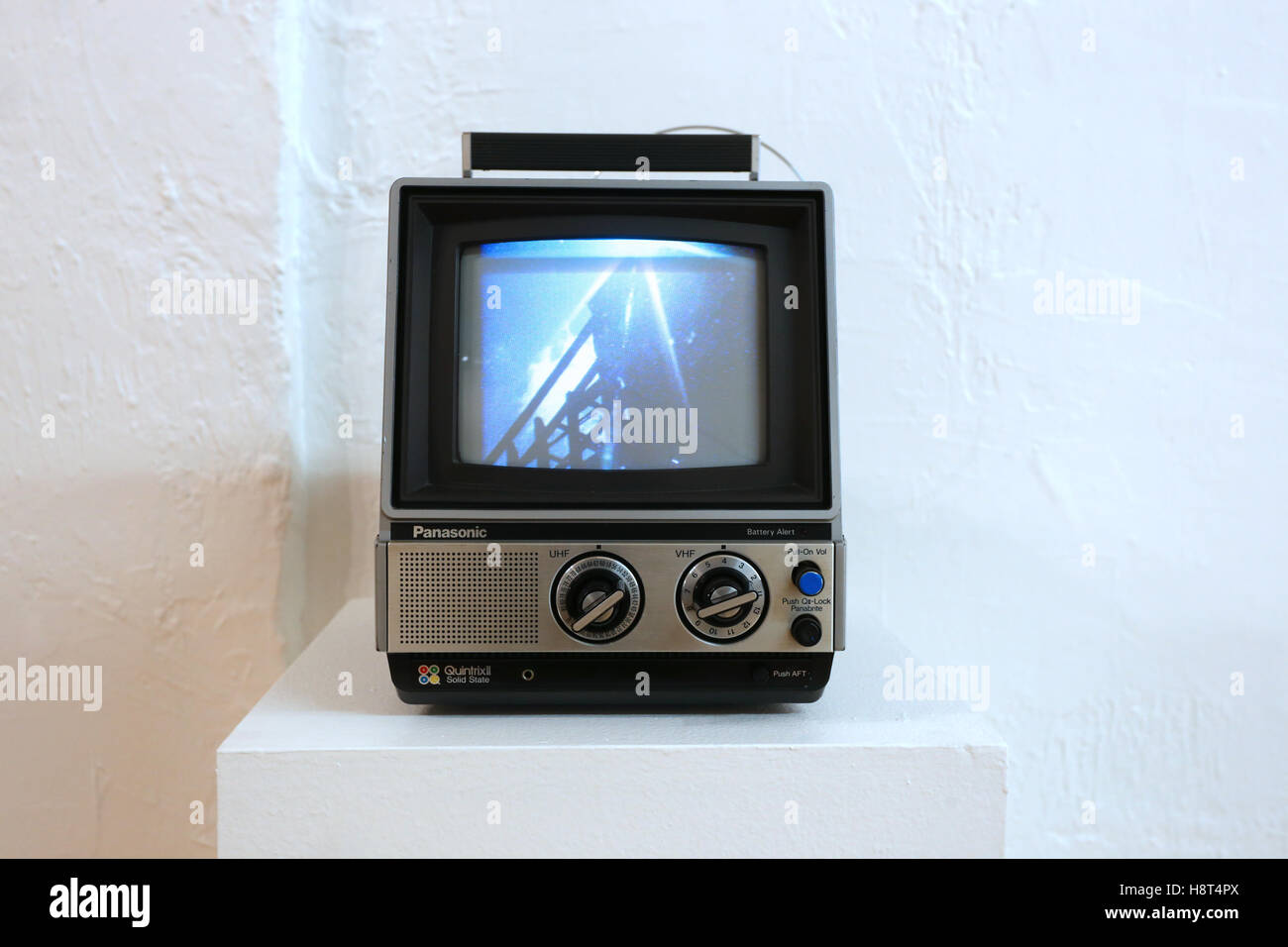 Analog TV set - Stock Image
