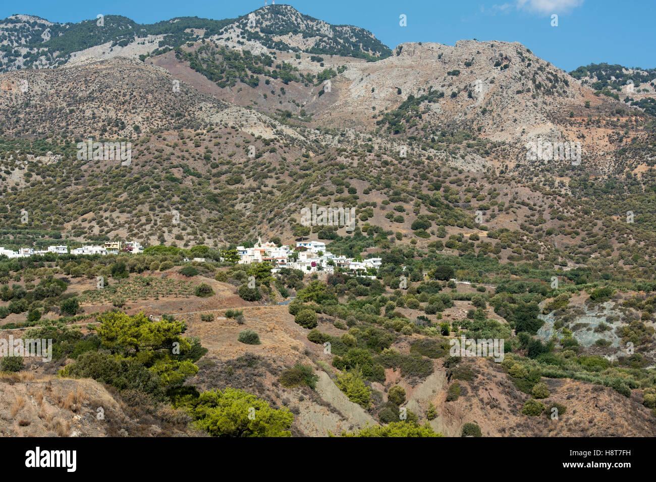 Griechenland, Kreta, Mournies - Stock Image