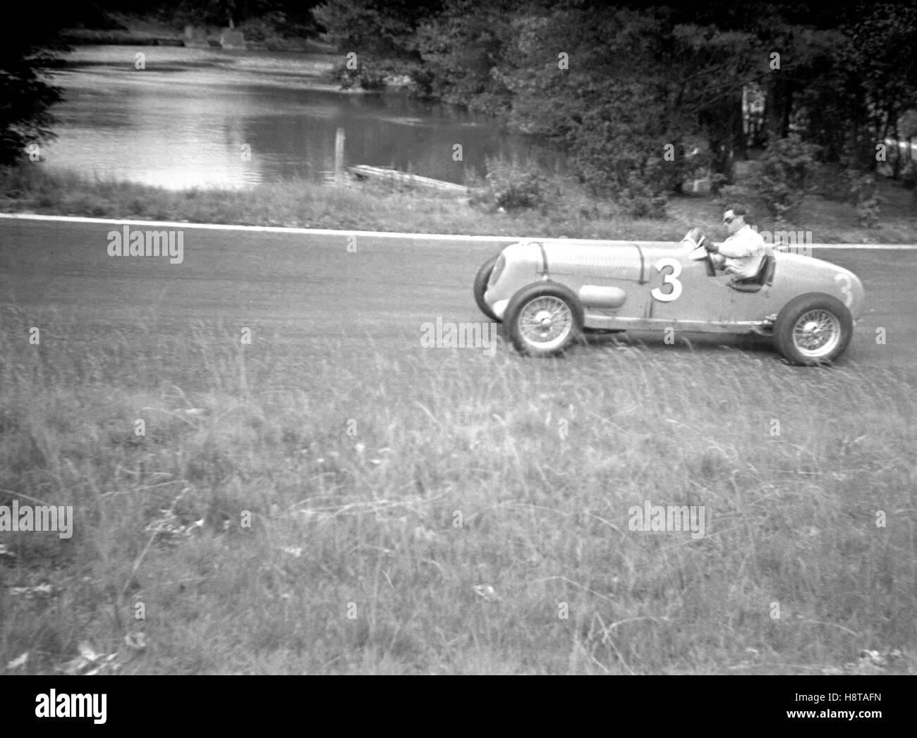 1938 LONDON GP CRYSTAL PALACE SMITH MG K3 SPL - Stock Image