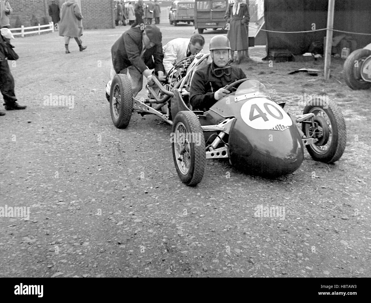 1953 GOODWOOD CHRISTIE KIEFT - Stock Image