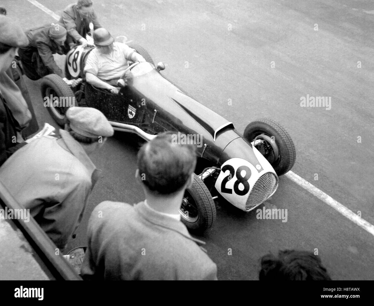 1953 SILVERSTONE HORACE GOULD COOPER BRISTOL O'HEAD - Stock Image
