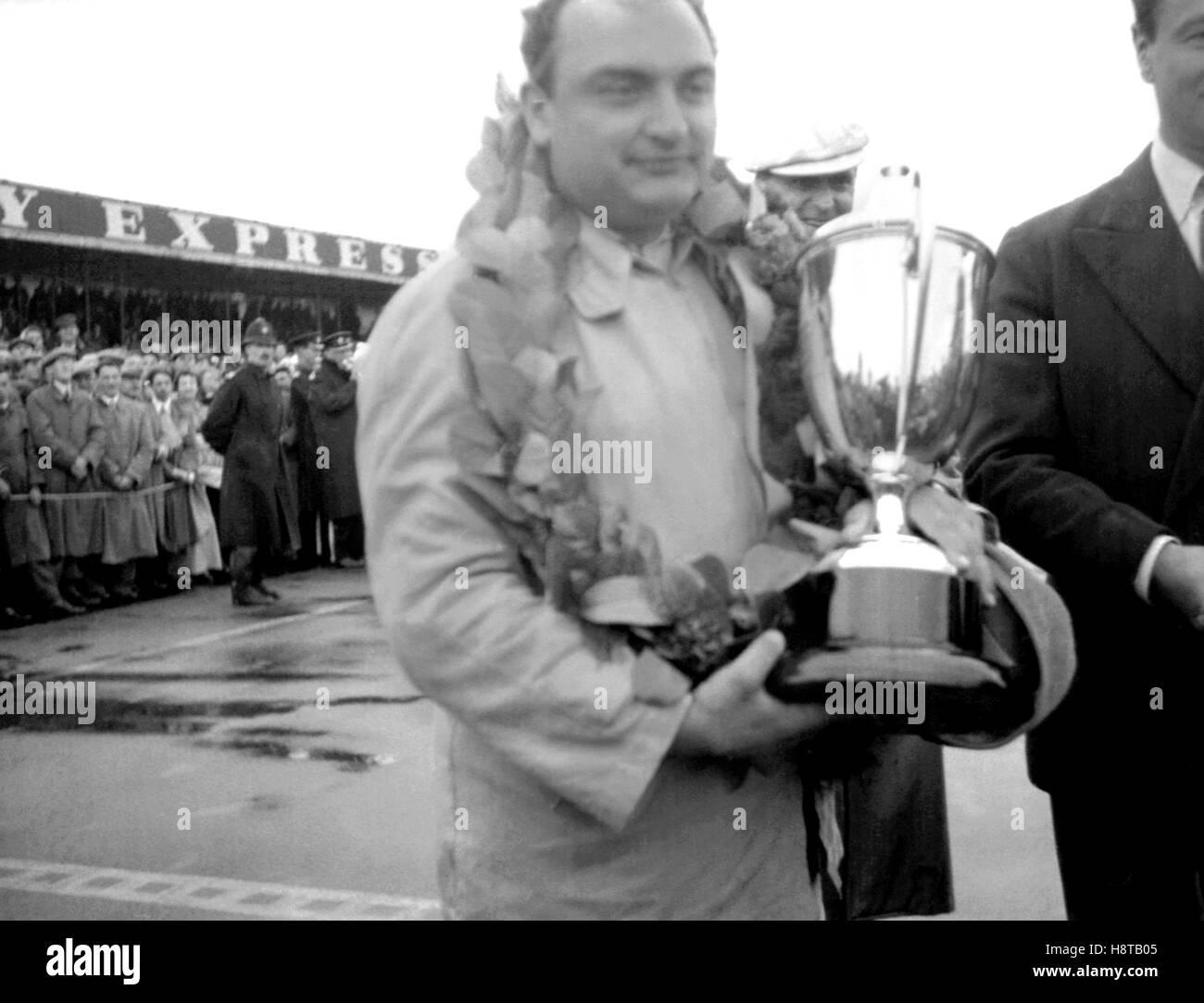 1954 INTERNATIONAL TROPHY GONZALEZ TROPHY - Stock Image