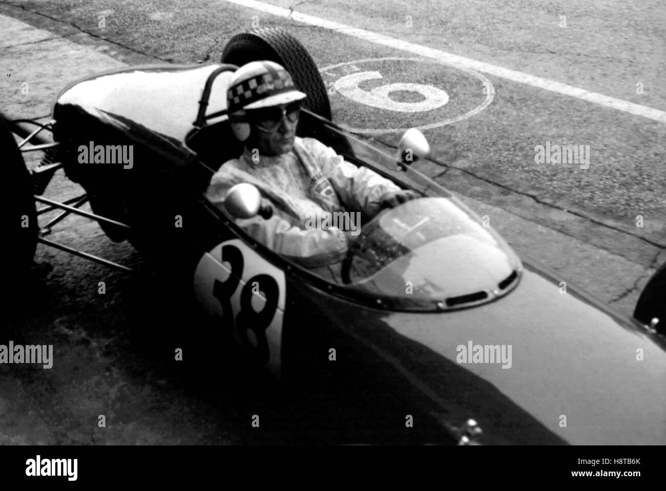 1961 ITALIAN GP IRELAND LOTUS POOR - Stock Image