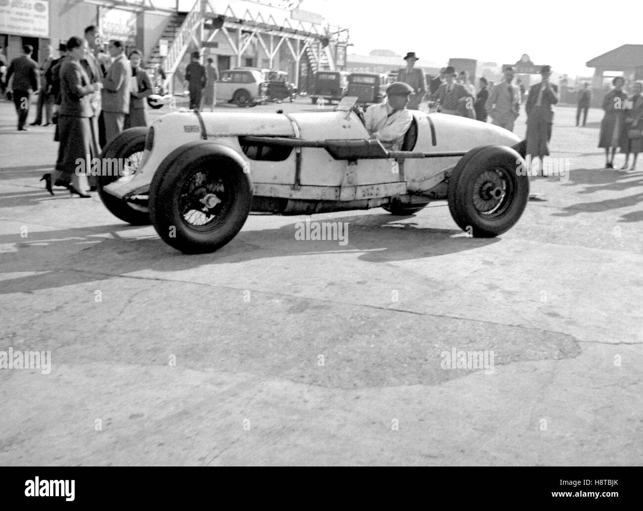 PRE WAR BROOKLANDS SPECIAL TALBOT Stock Photo