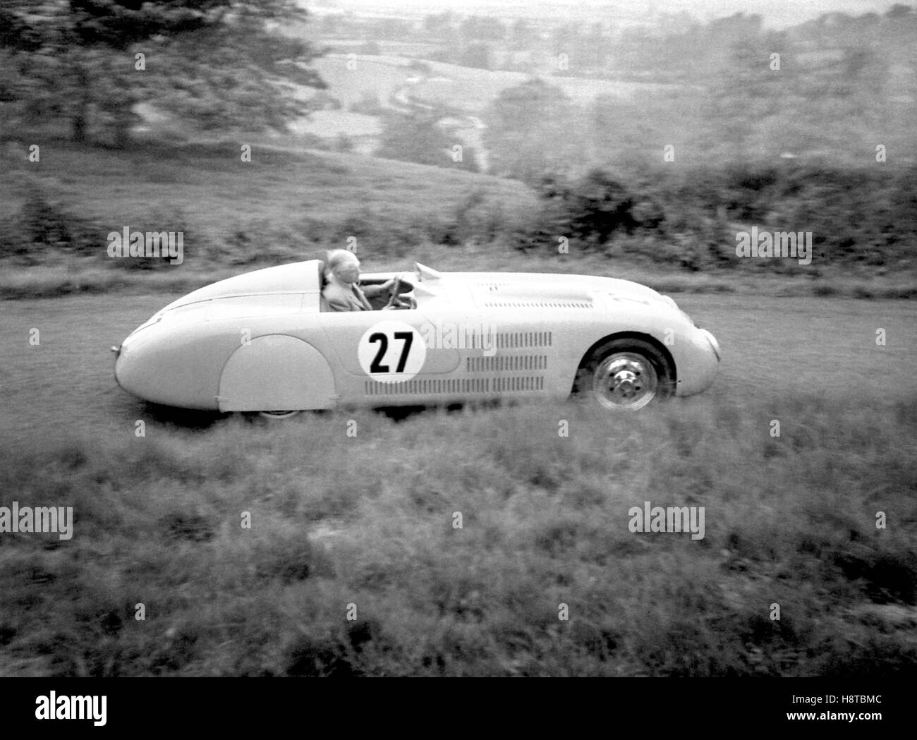 VERITAS BMW SPORTS AT SHELSLEY WALSH 1950s - Stock Image