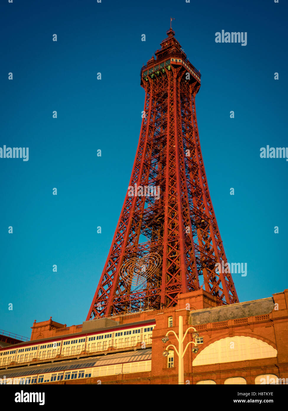 Blackpool Tower, Lancashire, UK. - Stock Image