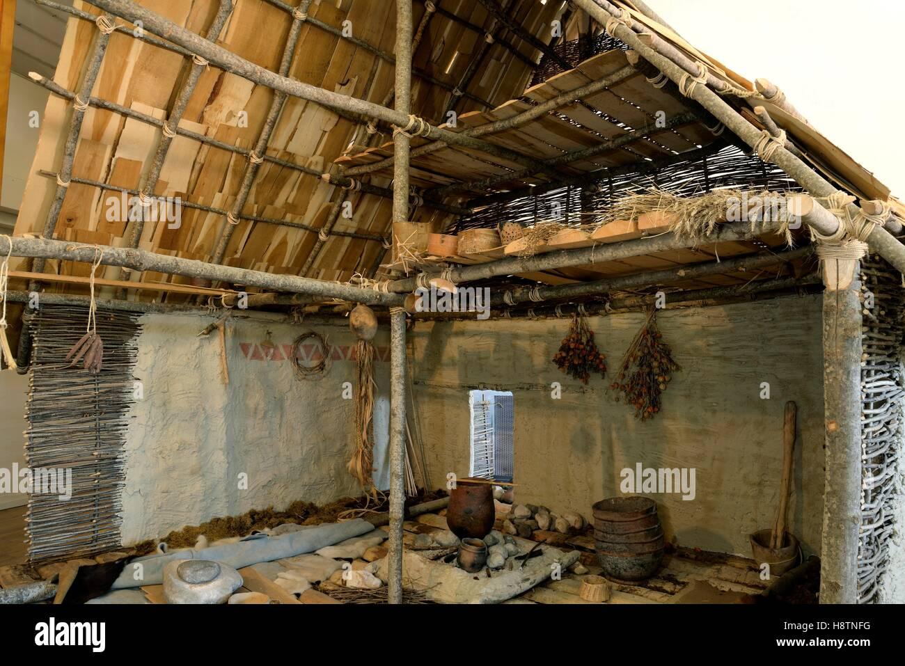 La Maison Du Bois Clairvaux haut jura regional natural park stock photos & haut jura