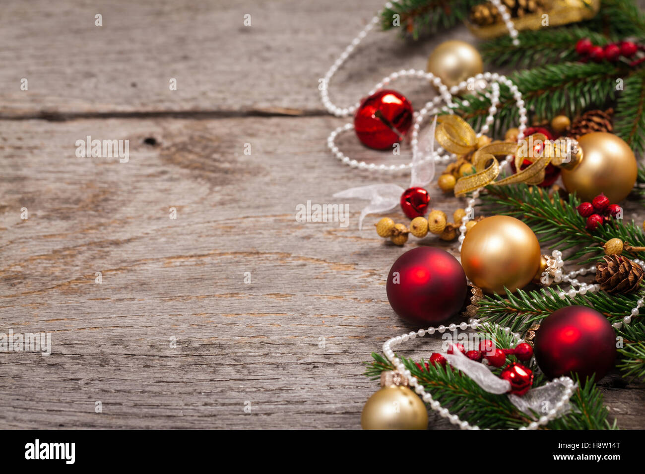 christmas and new year theme background