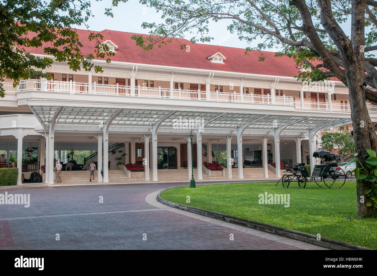 The historic Railway Hotel in Hua Hin Thailand currently known as Centara Grand Beach resort & villas - Stock Image