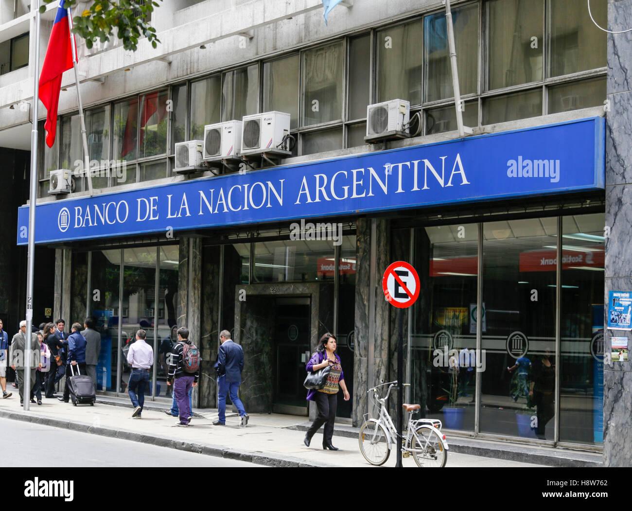 Banco De La Nacion Argentina Stock Photo: 125944282 - Alamy