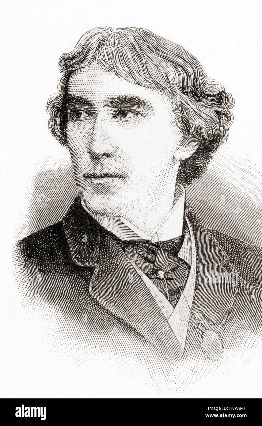 Sir Henry Irving, aka J. H. Irving 1838 – 1905, born John Henry Brodribb.  English stage actor in the Victorian - Stock Image