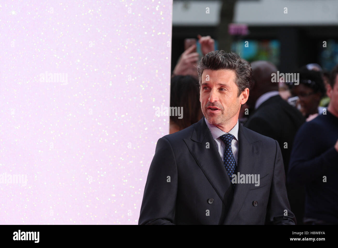 Patrick Dempsey attends Bridget Jone's Baby film premiere London on 05 Sep, 2016 Stock Photo