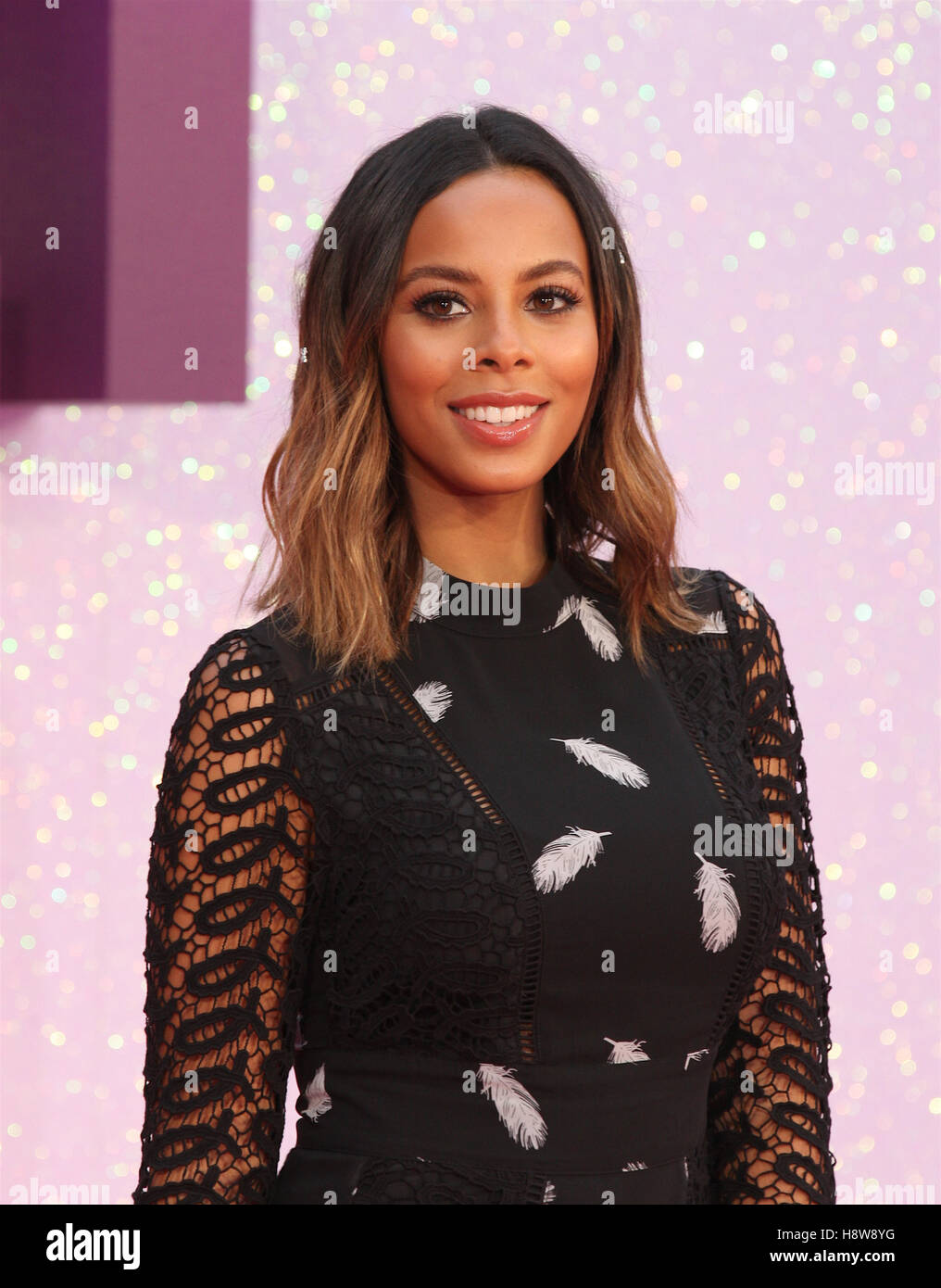 Rochelle Humes attends Bridget Jone's Baby film premiere London on 05 Sep, 2016 - Stock Image