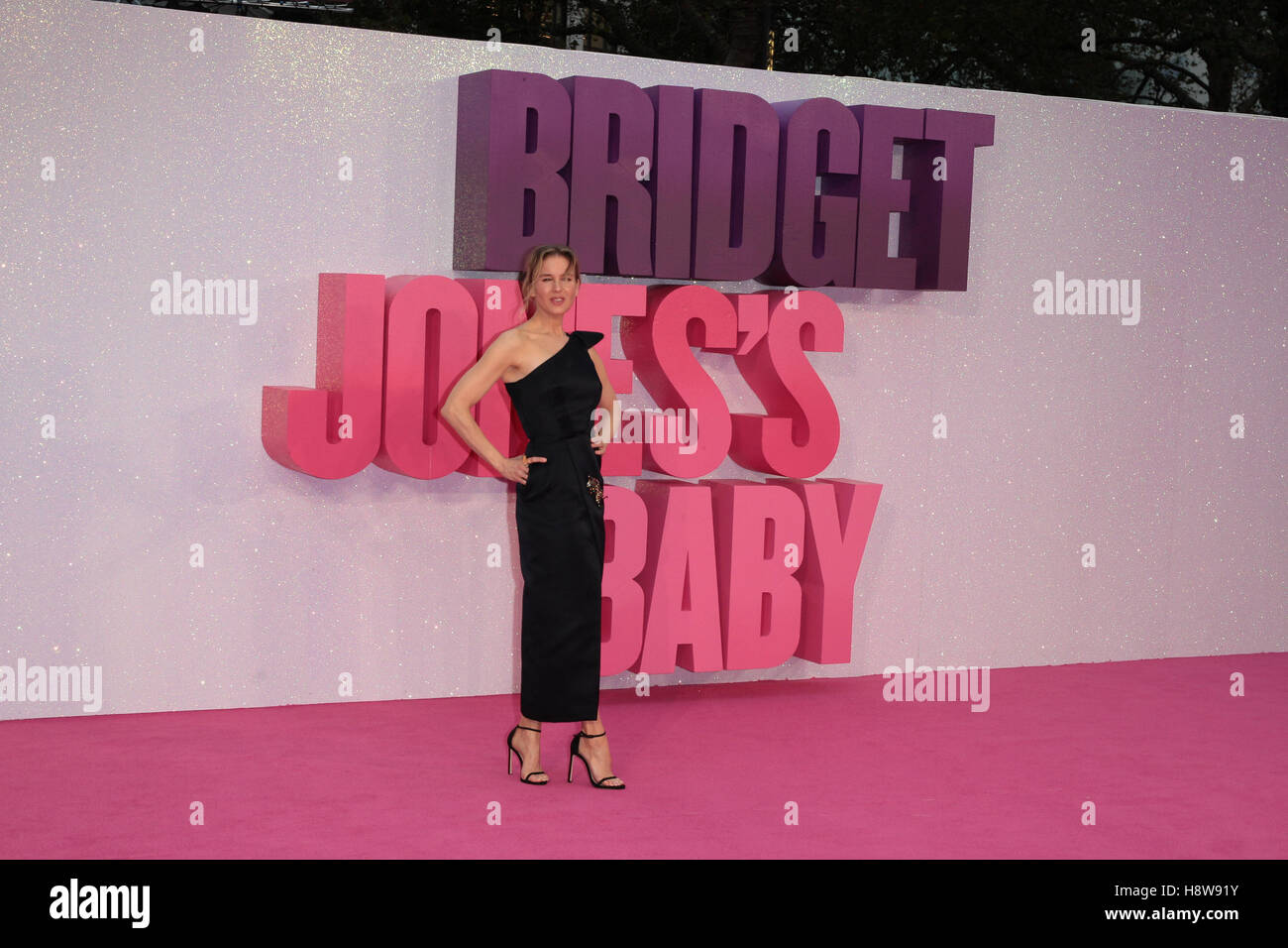 Renee Zellweger attends Bridget Jone's Baby film premiere London on 05 Sep, 2016 - Stock Image
