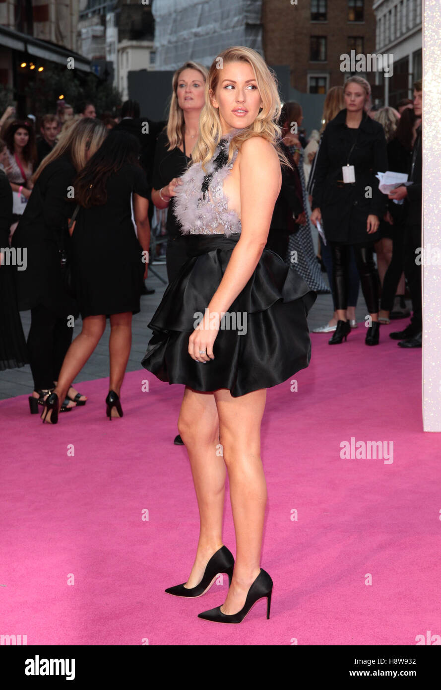 Ellie Goulding attends Bridget Jone's Baby film premiere London on 05 Sep, 2016 - Stock Image
