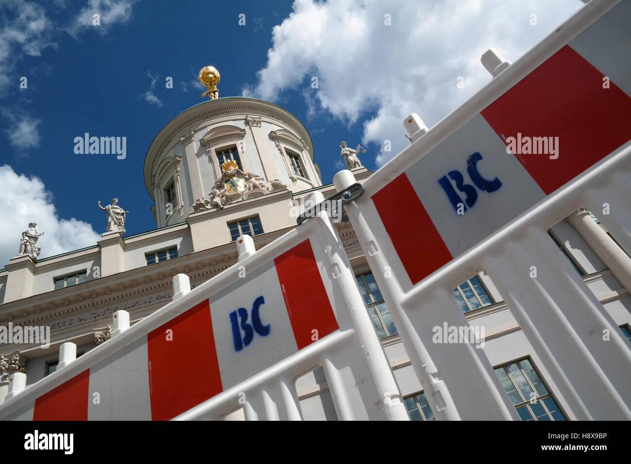 Altes Rathaus, Old City Hall, Potsdam, Deutschland - Stock Image
