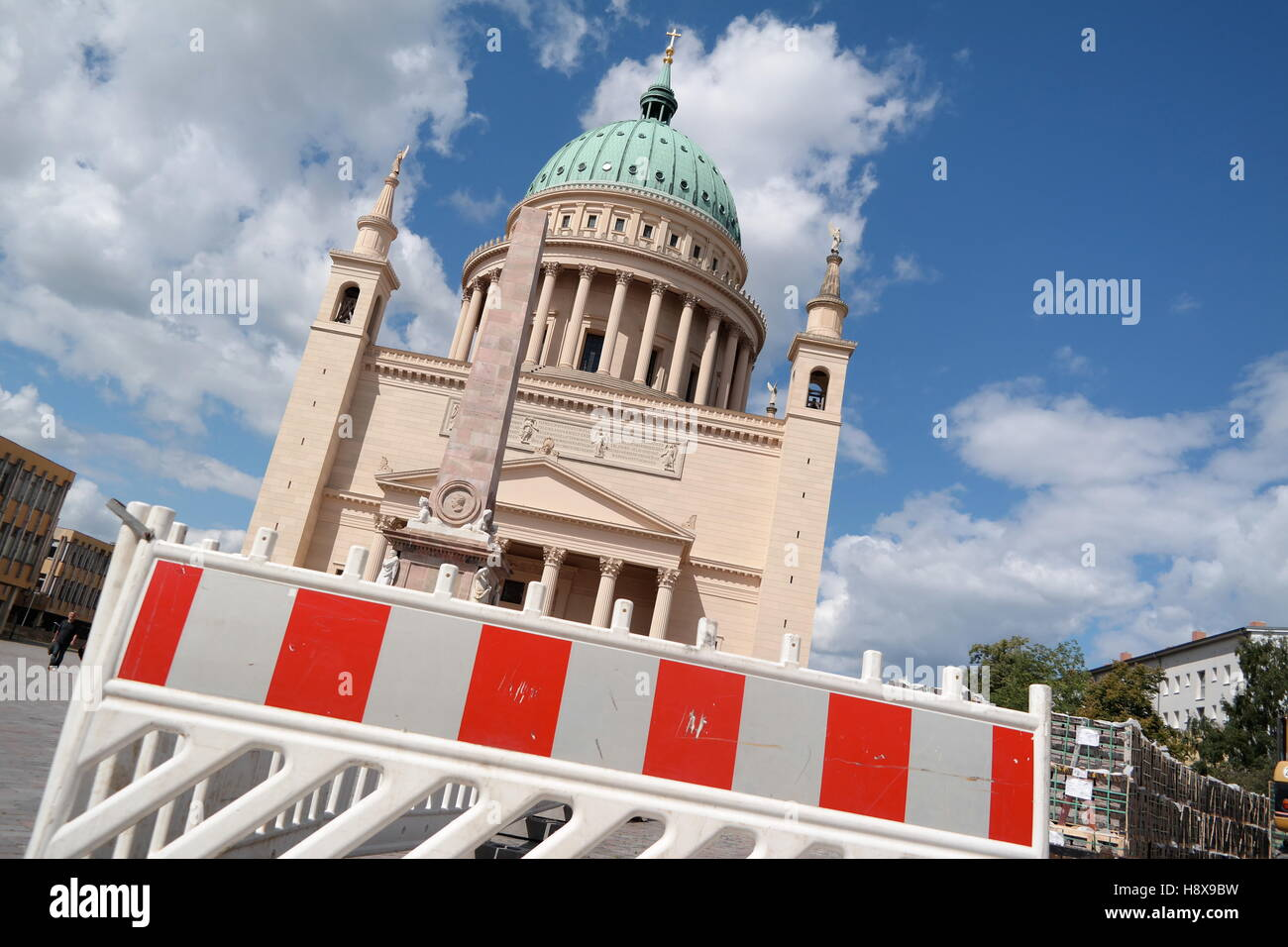 Nikolaikirche in Potsdam, Germany Stock Photo