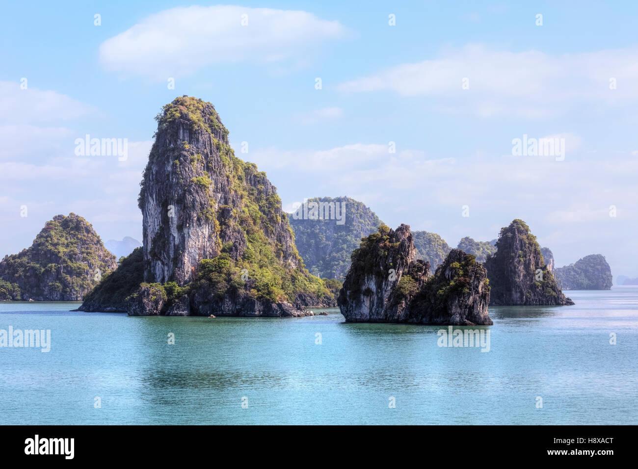 Halong Bay, Vietnam, Indochina, Asia - Stock Image