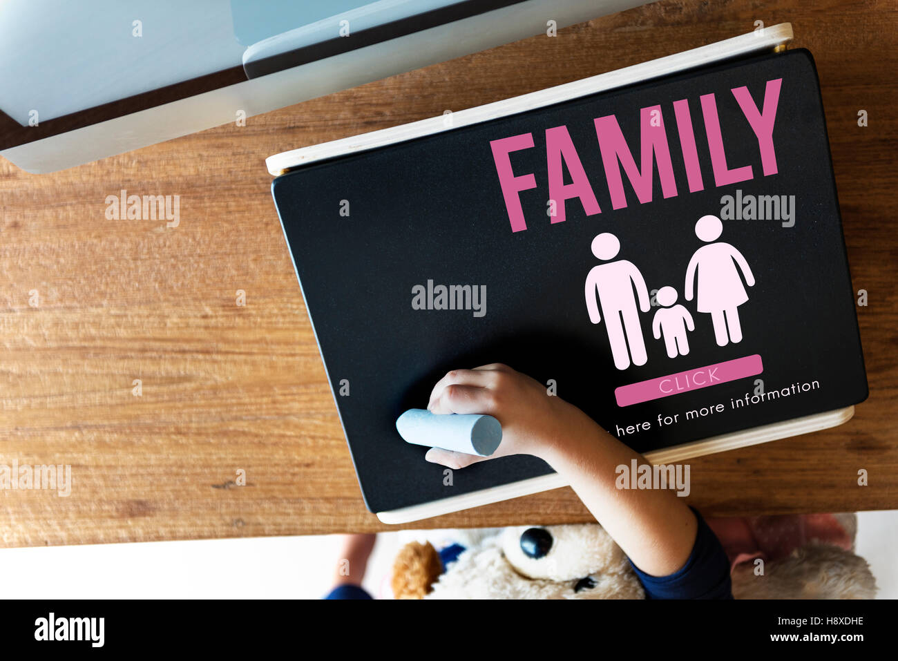 Family Care Genealogy Love Related Home Concept - Stock Image