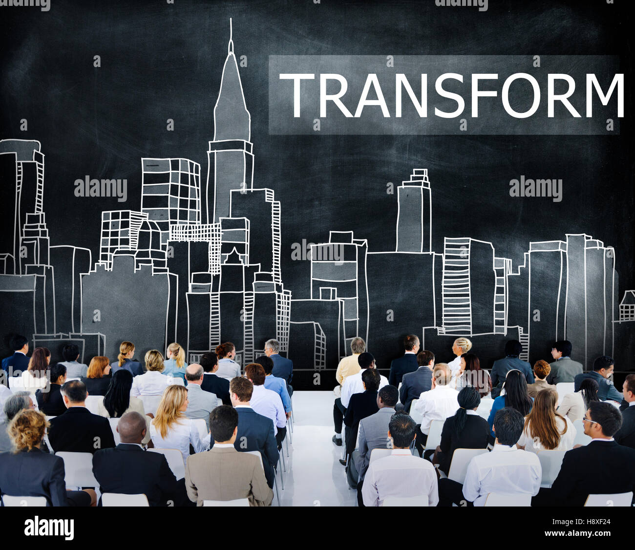 Transform Transformation Change Evolution Concept - Stock Image