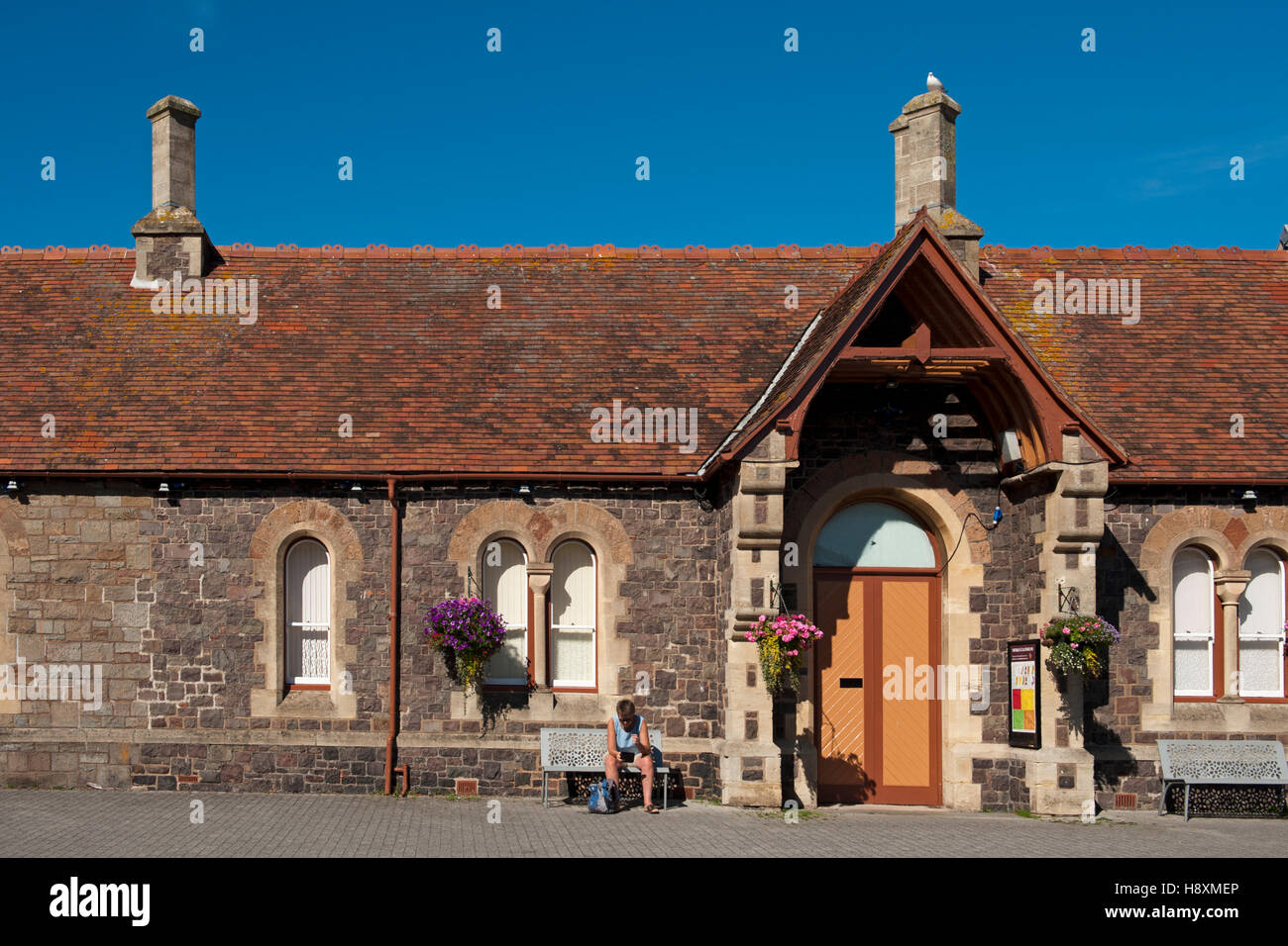 Minehead Railway Station, Terminus of the West Somerset Railway, UK Stock Photo