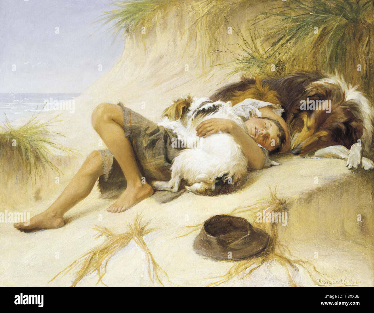 Margaret Collyer   Lazy Days - Stock Image