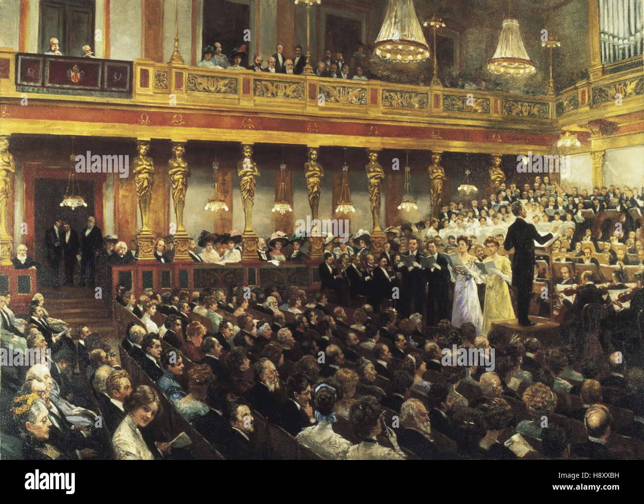 Auguste Mandlick  The Vienna Opera - Stock Image