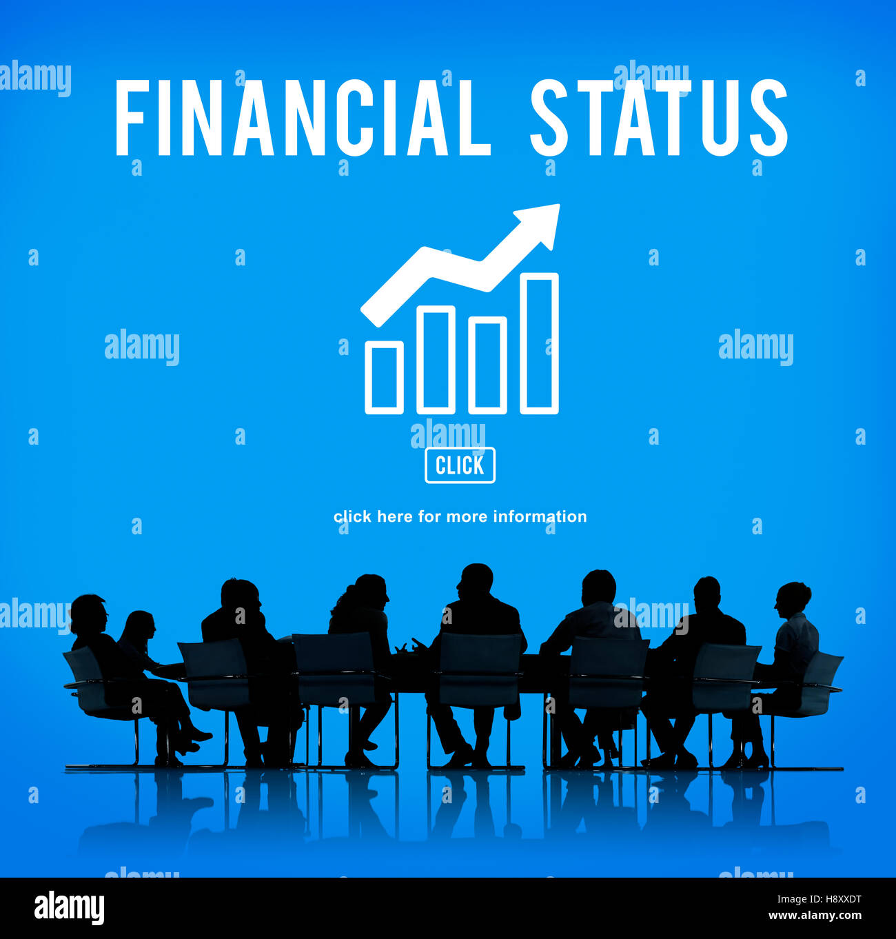 Business Growth Economics Graph Concept - Stock Image
