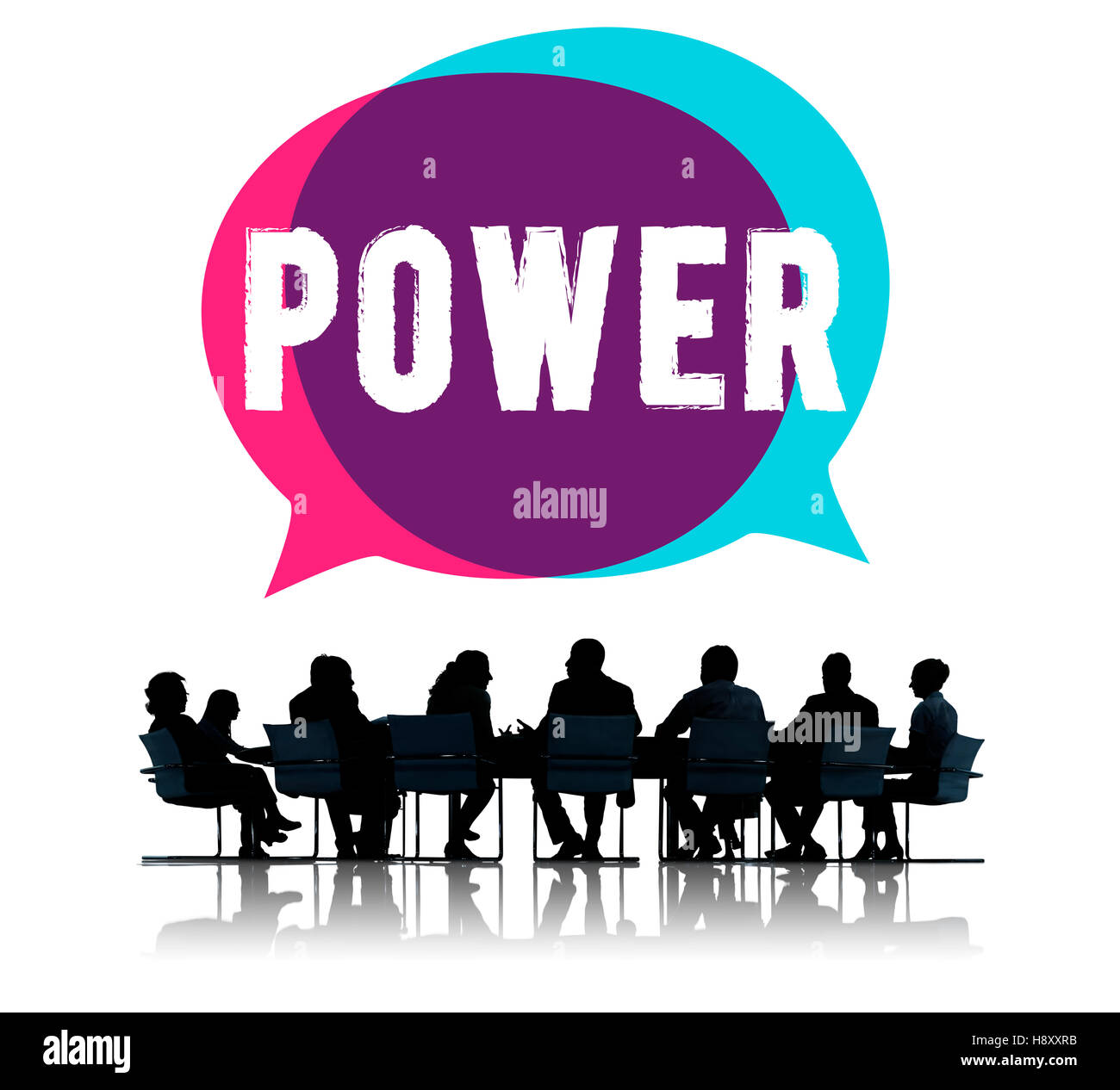 Power Potential Competence Competency Energy Concept - Stock Image