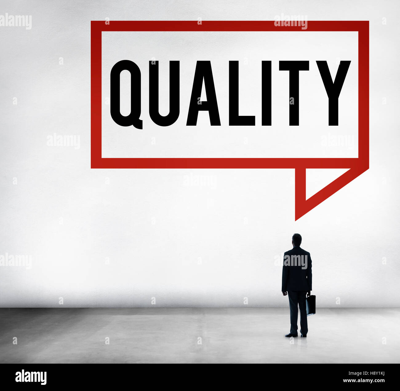 Quality Guarantee Value Grade Satisfaction Concept - Stock Image